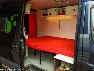 Wohnmobil Camper Van Mercedes Sprinter selber ausbauen Schweiz Idee Tipps Bericht Blog Forum
