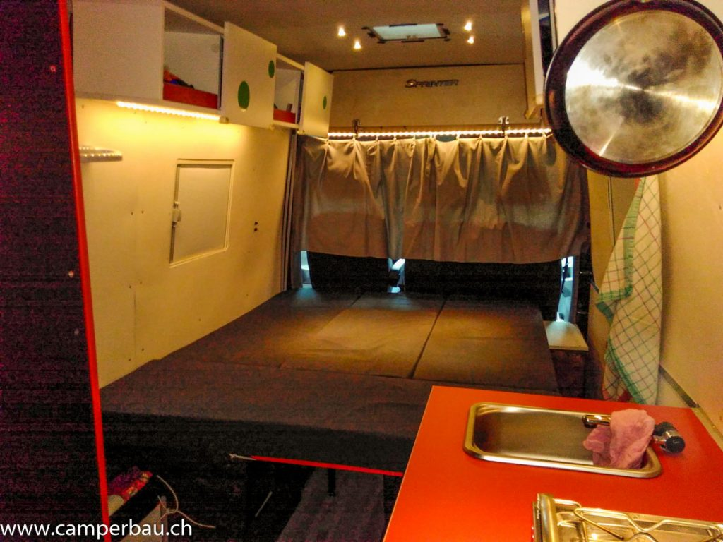LED Beleuchtung Wohnmobil Camper